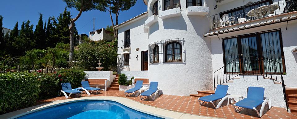 852d499fa48 Spanish villa Cornisa for rent in Mijas Pueblo