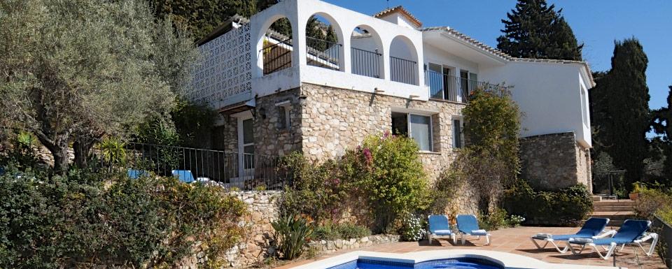 Casa del pintor holiday villa in mijas - Casa del pintor ...