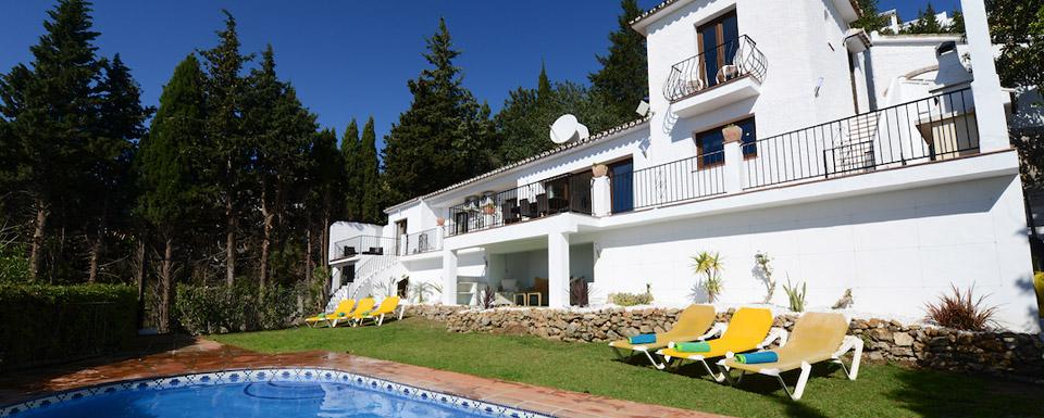 11209e03063 A Spanish Holiday Villa for rent close to Mijas