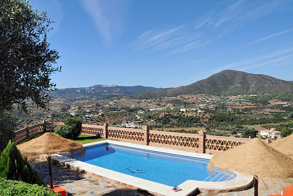 El Acebuche holiday villa, Mijas, Spain