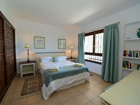 Double bedroom at Casa Adelente, Mijas holiday villa for rent