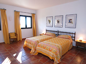 One of the four spacious bedrooms at Alta Mira, Mijas Pueblo
