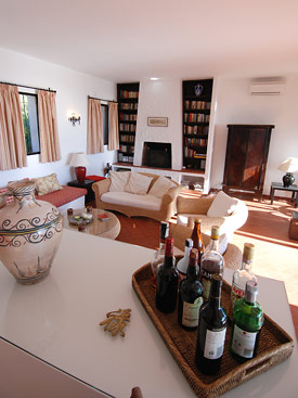 Fabulous lounge at Alta Mira holiday villa, Mijas