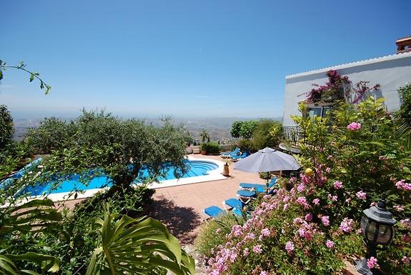Holiday Villa Casa Del Olivar For Rent In Mijas Spain