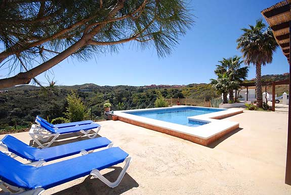 Fabulous views at holiday villa Casa la Fuente, Mijas, Spain
