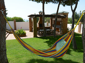 Chill in the hammock at Casa Claveles
