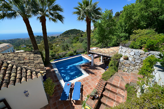 Casa Clover holiday villa for rent in Mijas Pueblo, Spain