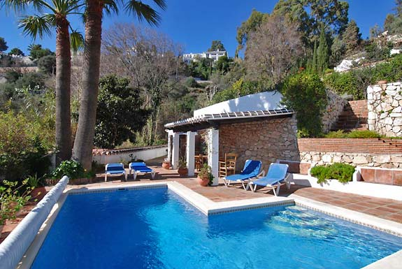 Fabulous pool at Casa Clover, Mijas, Spain