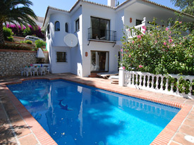 Costa del Sol holiday villa in Mijas
