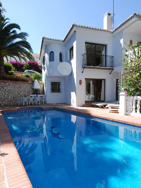 Pool at Casa Delphin, Mijas Pueblo