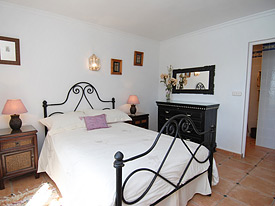 The master bedroom at La Fuente No.4