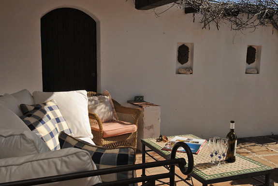 Chill by the pool at Finca los Gemelos, Mijas, Spain
