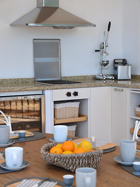 The summer kitchen at Casa la Noria, Mijas