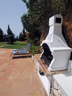 Poolside BBQ at Los Patos, Mijas