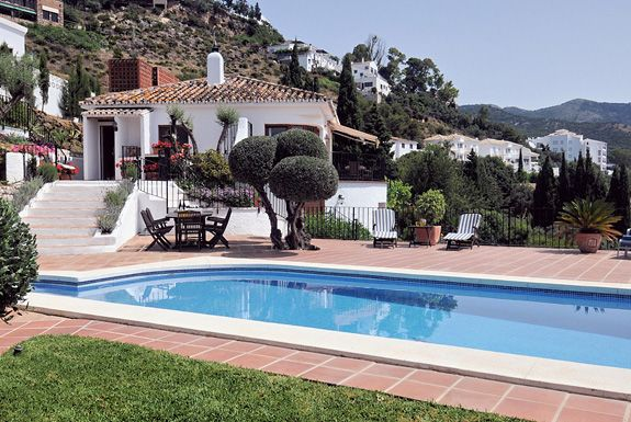 Los Patos holiday villa for rent, Mijas, Spain