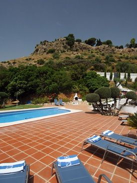Relax by the pool at Los Patos, Mijas Pueblo, Spain