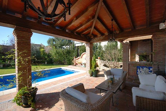 Relax by the pool at Casa las Rosas, Mijas Pueblo, Spain