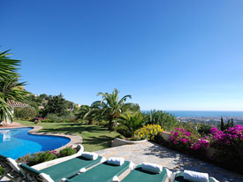 Stunning views at Shangri La holiday villa, Mijas Pueblo