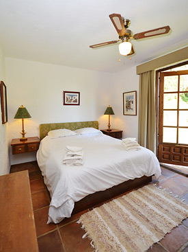 Double bedroom at Shangri La holiday villa for rent, Mijas Pueblo, Andalucia