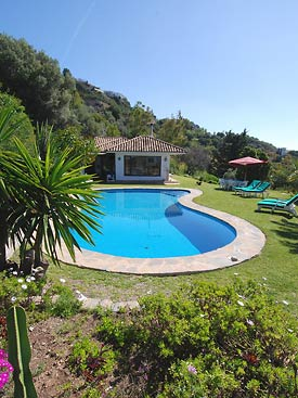 Casa Shangri La holiday villa, Mijas, Spain