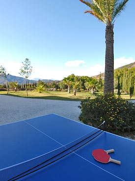 Table tennis, Torre Redonda, Mijas Pueblo, Spain
