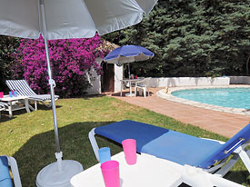 Relax by the pool at Tusculum holiday villa, Mijas, Spain